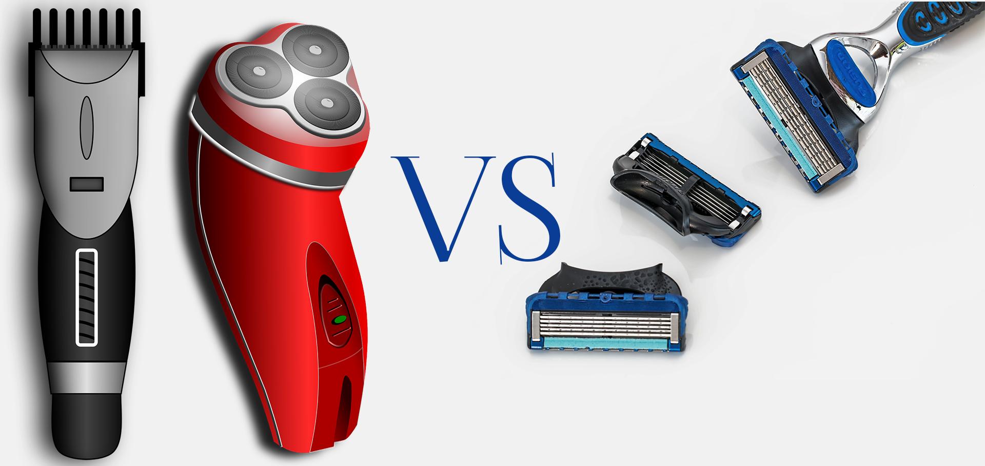 Electric Shaver vs. Manual Razor