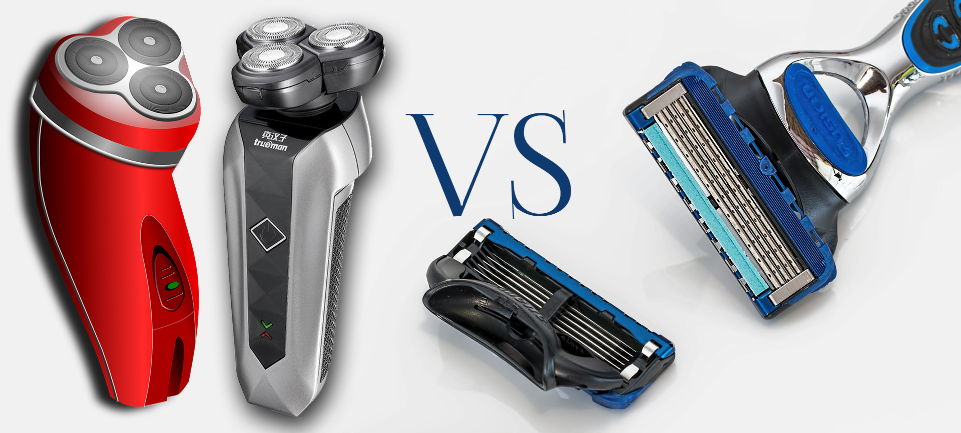 Electric Shaver vs. Razor