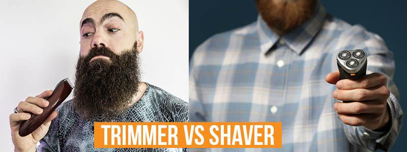 Trimmer Vs Shaver
