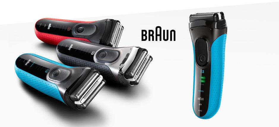 Braun Series 3 for comfort