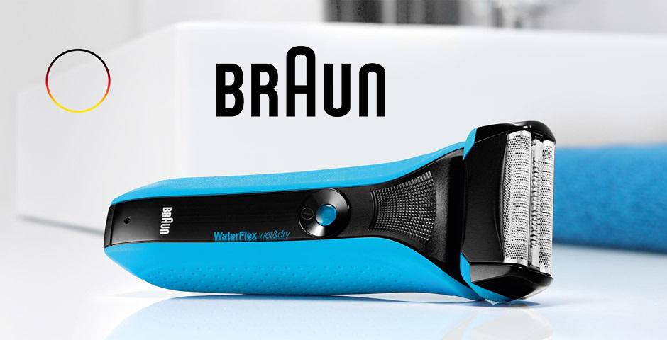 Braun WaterFlex series