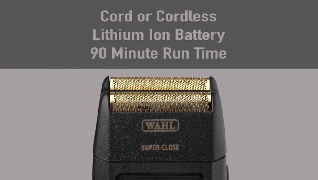 wahl 5 Star Finale Finishing Tool battery life