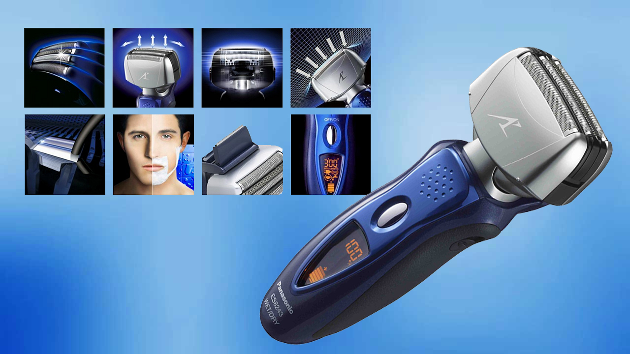 Get a Super-Close Shave with the Panasonic ES8243A Arc4 Electric Shaver for Men