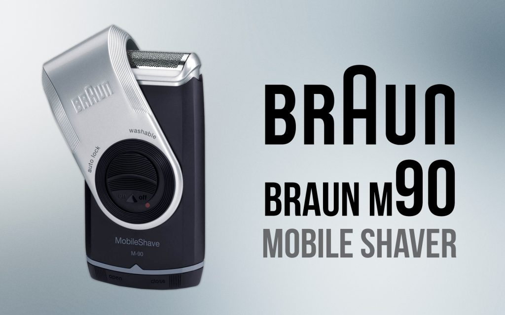 Braun M90 Mobile Shaver, 1 Count review