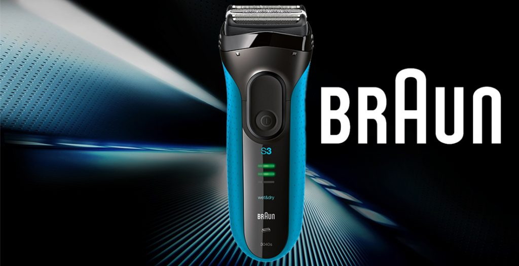 Braun Series 3 3040 Wet and Dry Foil Shaver for Men