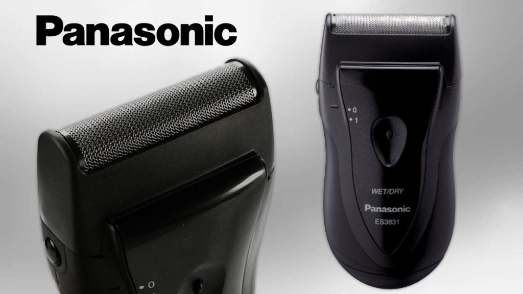 single-blade wet/dry travel shaver Panasonic ES3831K