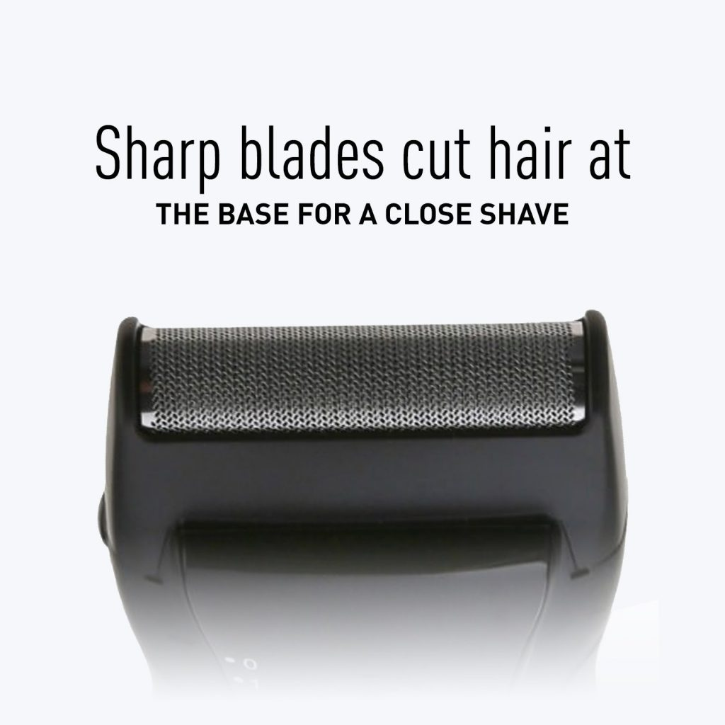 single-blade wet/dry travel shaver es3831k perfromance