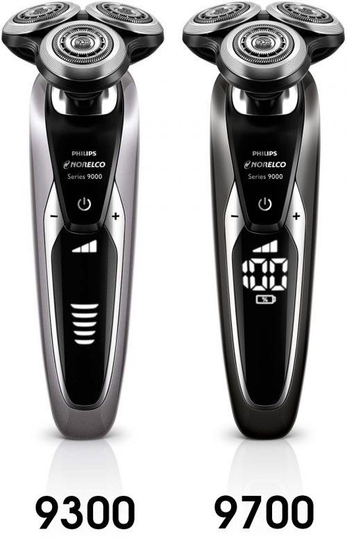 Philips Norelco 9300 vs 9700