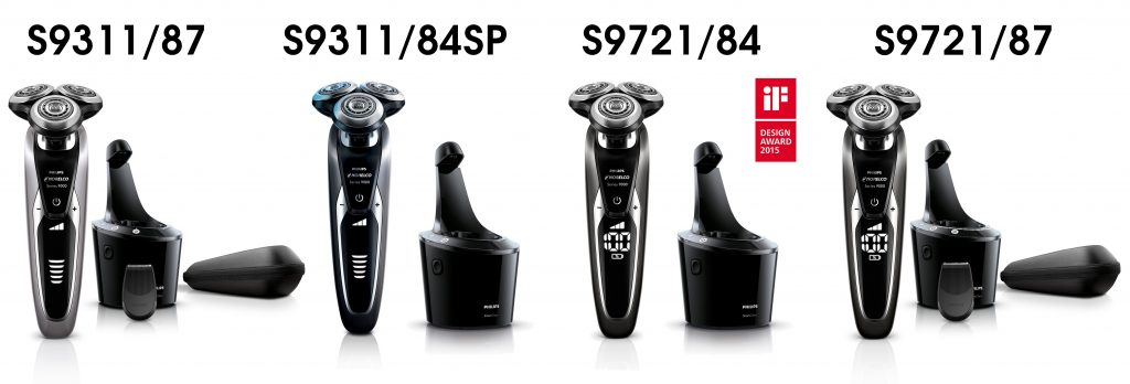 Philips Norelco series 9000 all models comparison