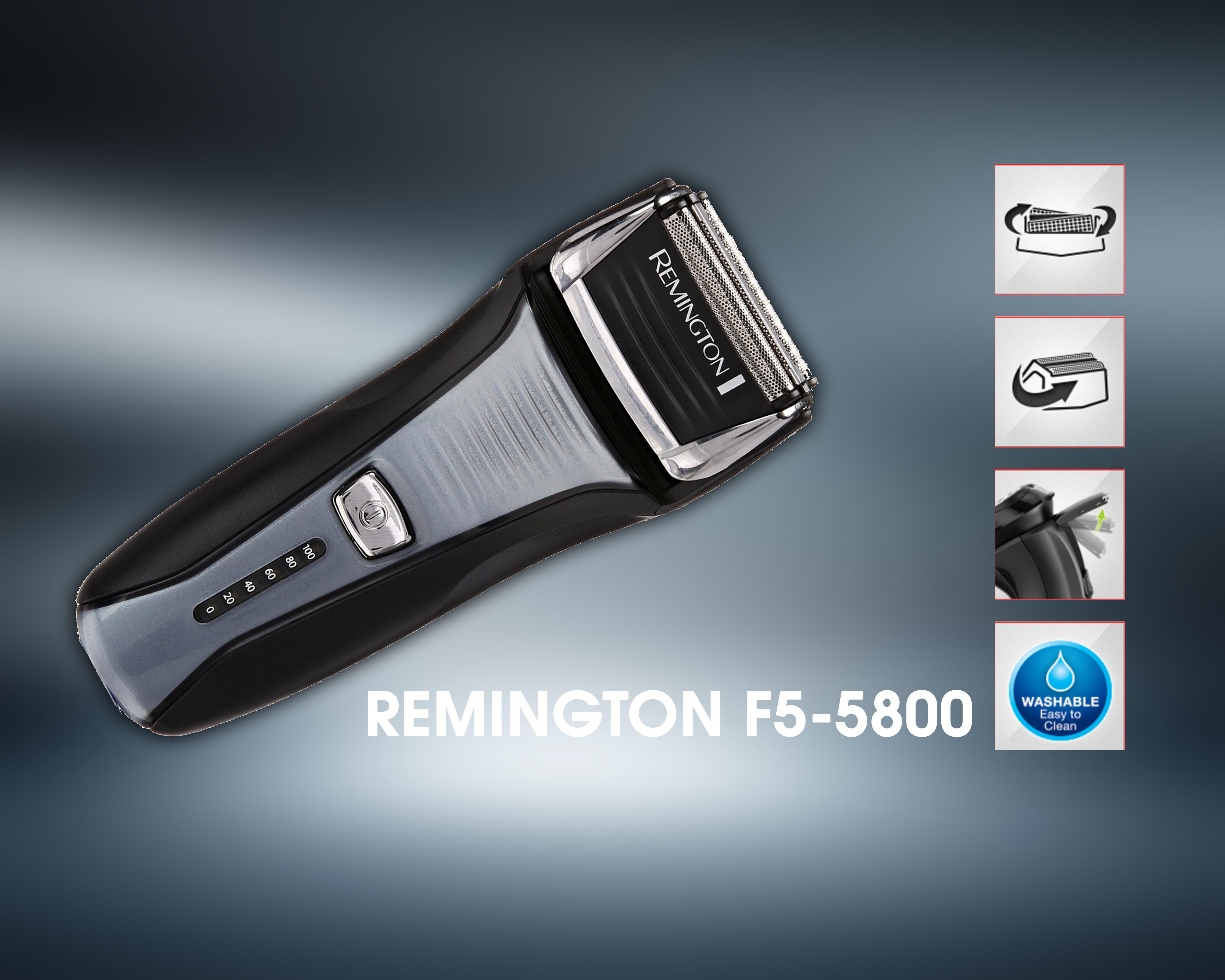 Remington F5-5800 Foil Shaver, Men's Electric shaver review
