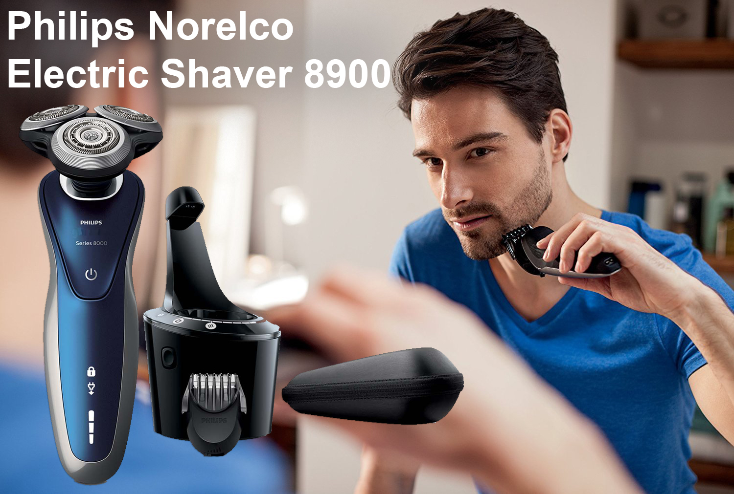 Philips Norelco Electric Shaver 8900 Model S8950/91 Review