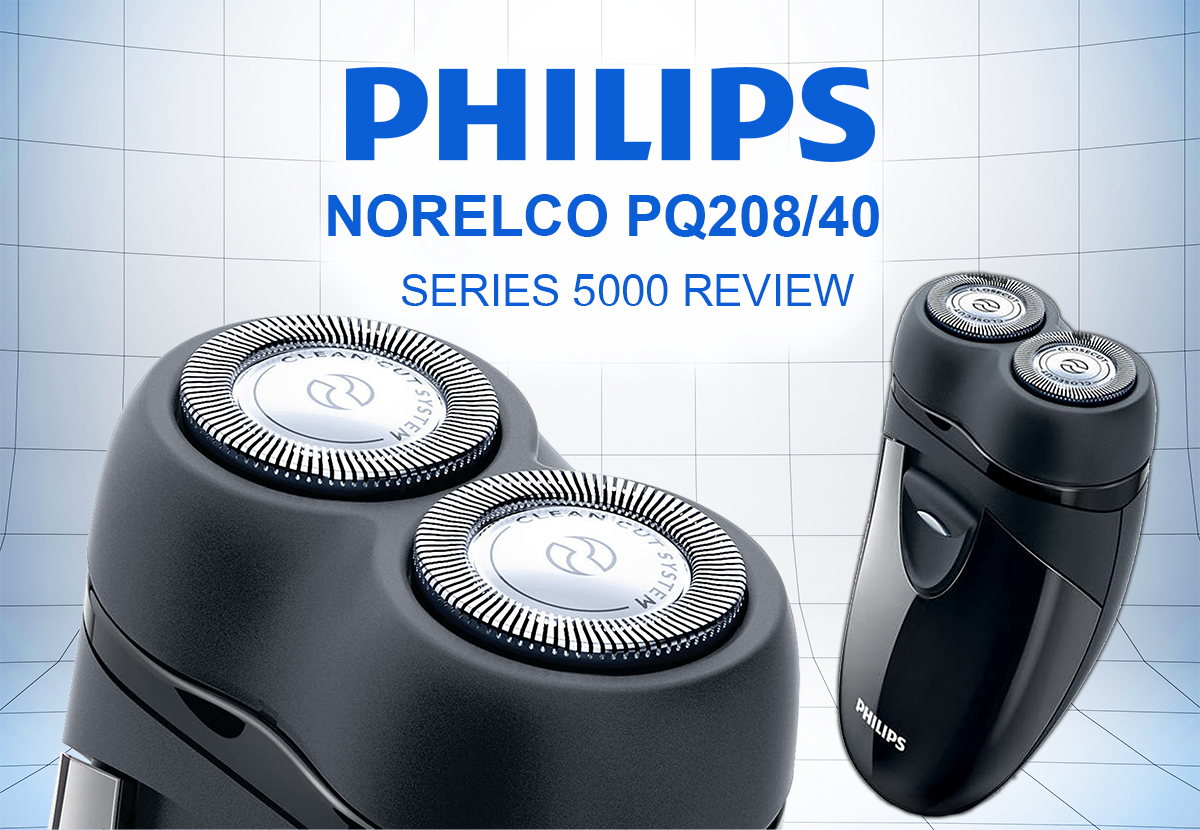 Philips Norelco PQ20840 Travel Electric Razor Series 5000 Review