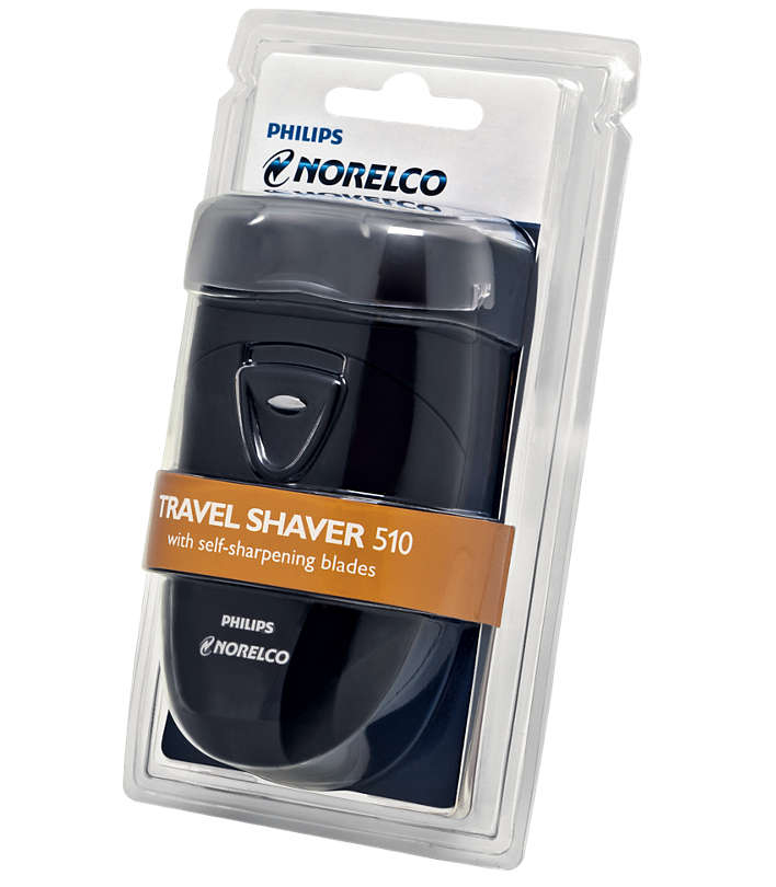 philips norelco travel shaver 510 box