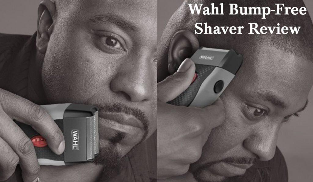 wahl bump free rechargeable shaver 14.4 ounce