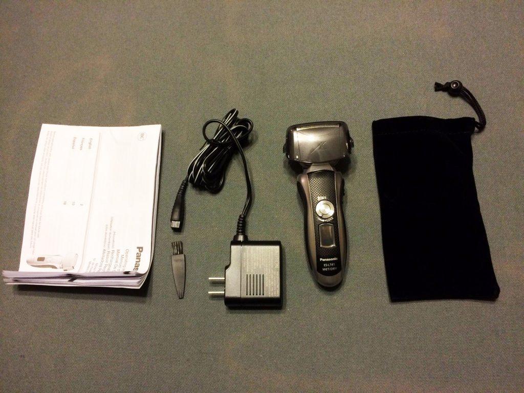 Panasonic ES-LT41-K Arc3 inside box