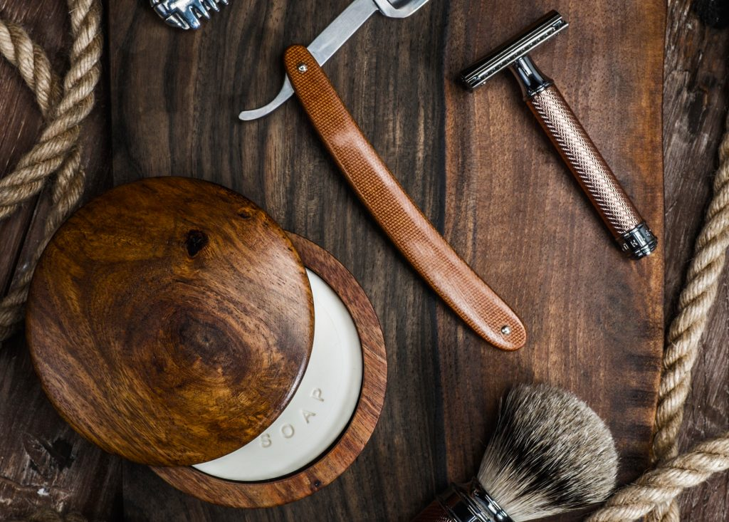 A well-groomed man's guide to using shaving soap