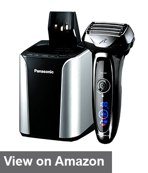 Panasonic Arc5 Electric Razor with cleaning station
