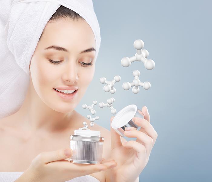 composition of eye cream