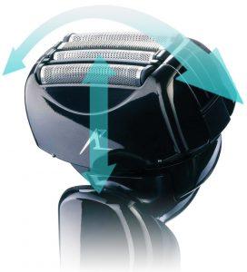 Multi-flex pivoting head