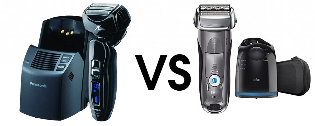 Panasonic ES-LA93-K VS  Braun Series 7 7865cc