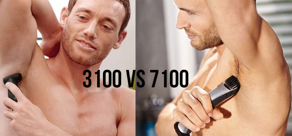 Philips Norelco Bodygroom Series 3100 vs. Series 7100