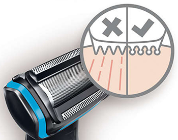 hypoallergenic blades in Norelco Bodygroom Series 3100