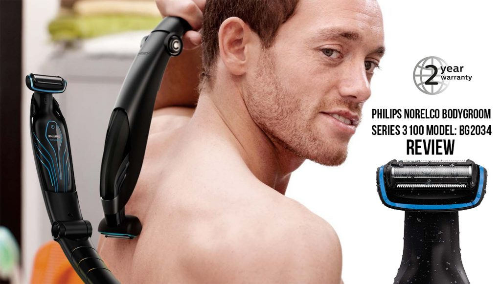 philips norelco bodygroom 3100 model BG2034 review