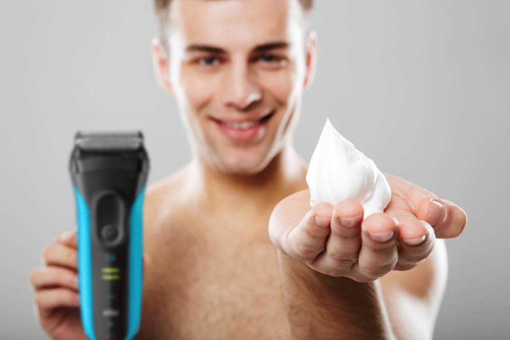 shaving with braun series 3
