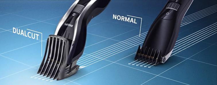 philips hair clipper 7100 dualcut