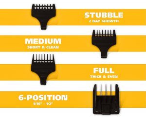 wahl beard trimmer attachments
