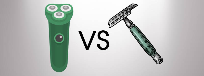 Electric Shaver vs Razor Blade