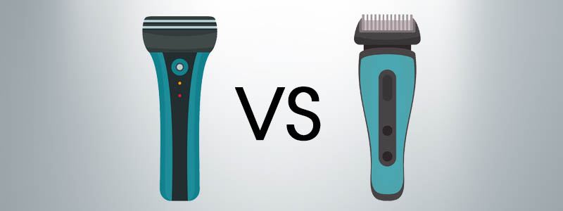 Electric Shaver vs Trimmer