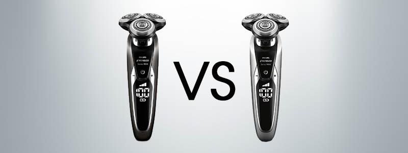 norelco 9700 vs 9800