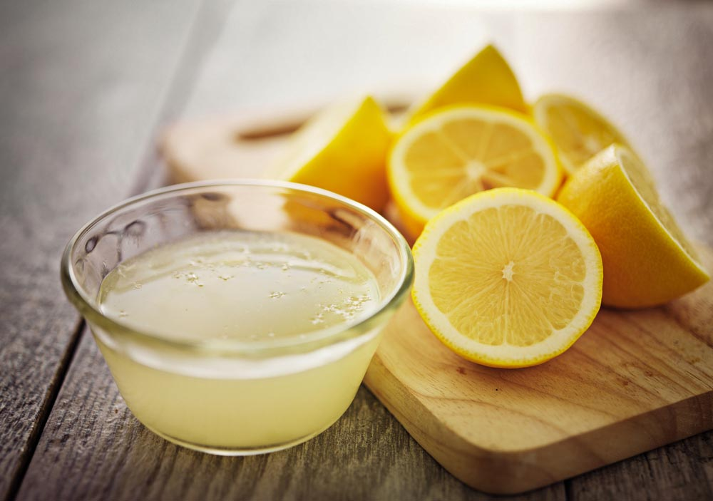 using lemon juice for razor bumps