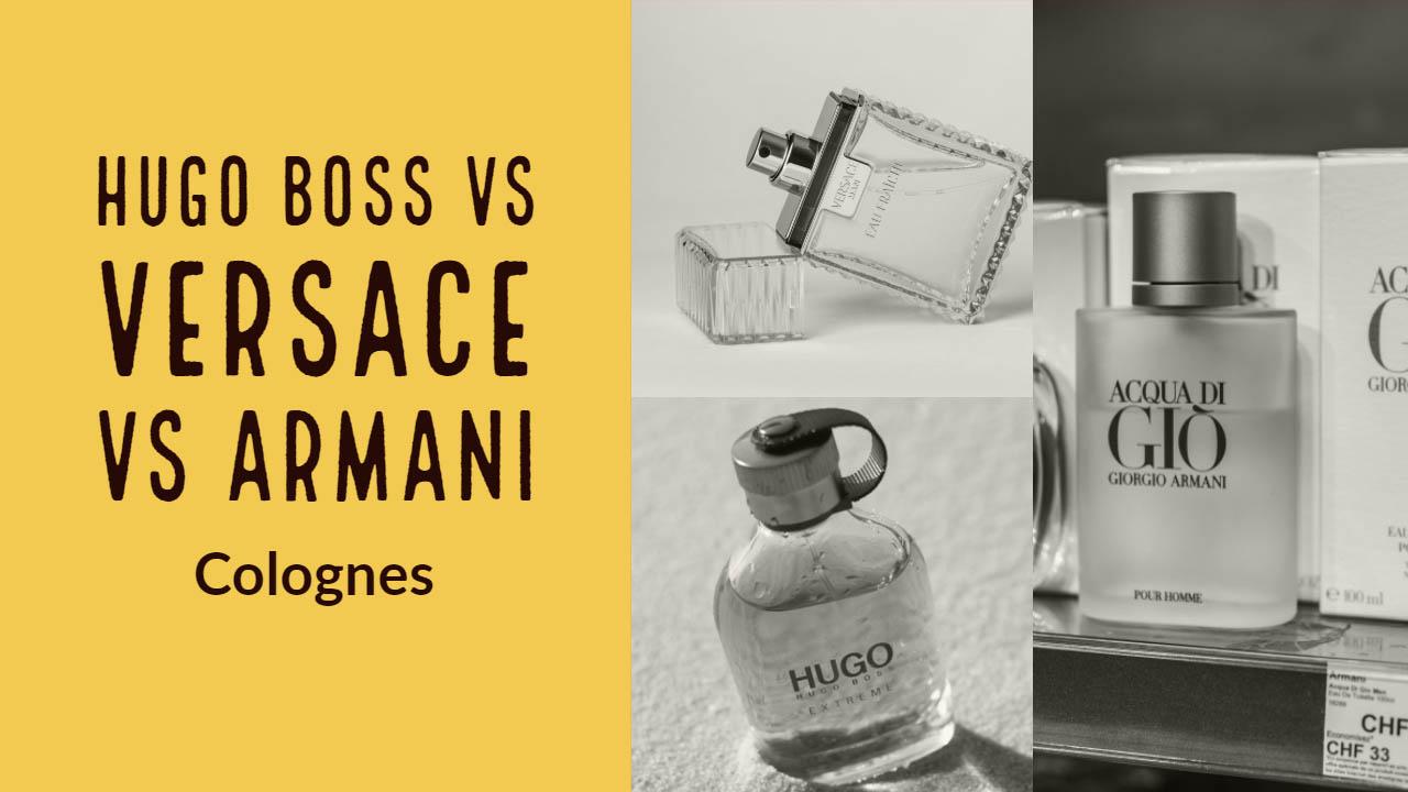 Hugo Boss Colognes comparison