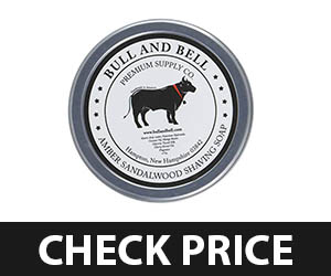 5 - Bull and Bell Amber Sandalwood Sensitive Shaving Soap