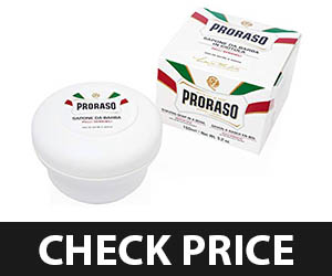 1 - Proraso Sensitive Shaving Soap in a Bowl