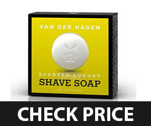 4 - Van Der Hagen Men's Luxury Scented Soap