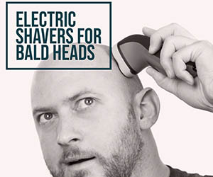 electric shavers For bald heads