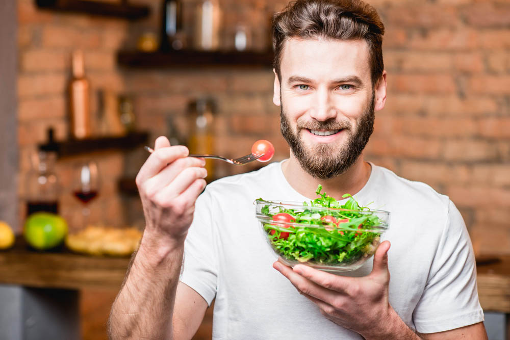 healthy food for thicker beard growth