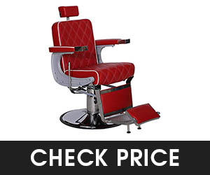 6 - BarberPub Heavy Duty Barber Chair