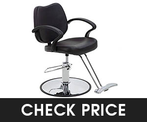 4 - BestSalon Hydraulic Barber Chair