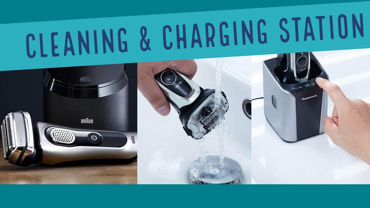 Braun & Panasonic Cleaning & Charging Station