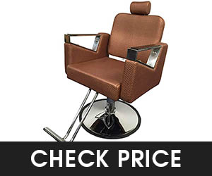 9 - D Salon Rose Gold Barber Chair