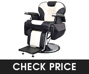 8 - Exacme Hydraulic Recline Barber Chair