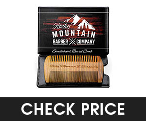 8 - Rocky Mountain Sandalwood Beard Comb