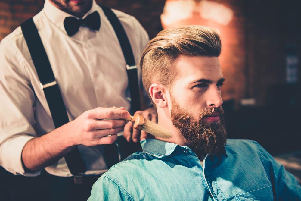barber neck duster