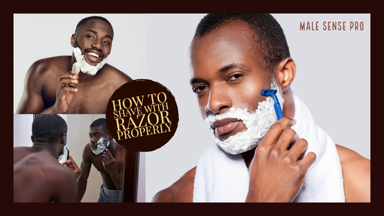 How to Shave with Razor