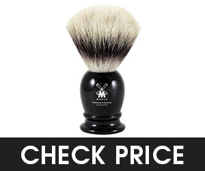 9 - MUEHLE Synthetic Shaving Brush with Fiber