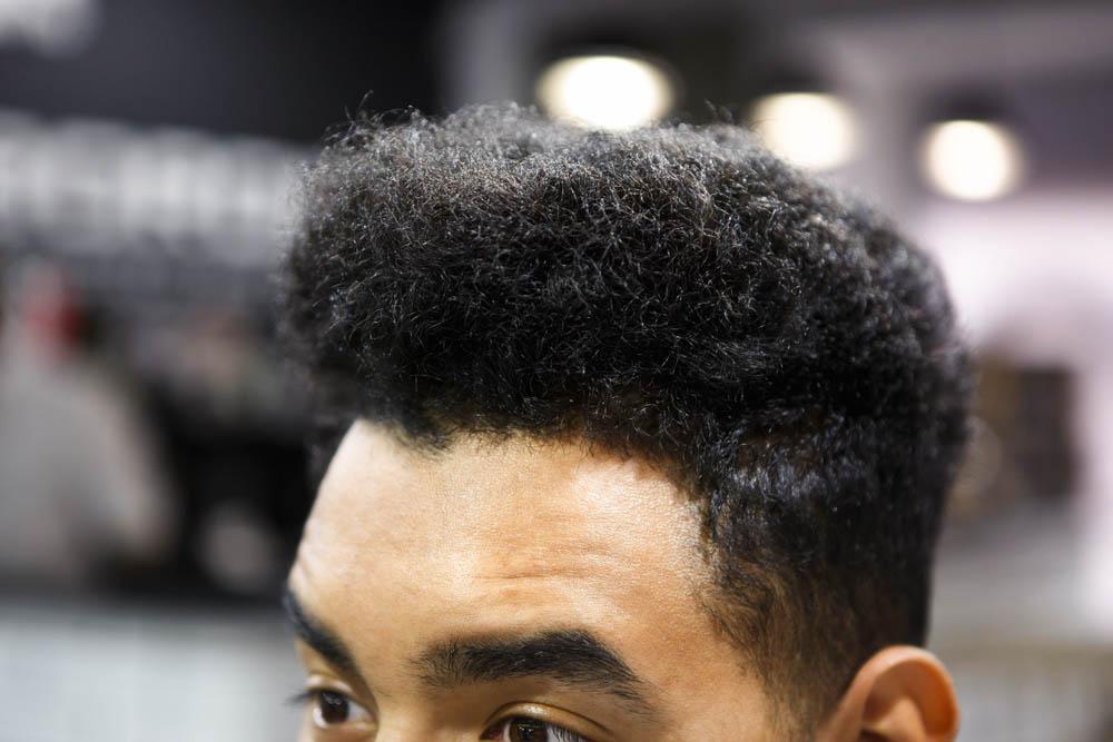 black male hair care